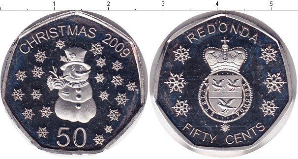 Каталог монет - Редонда 50 центов