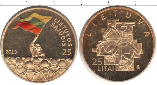 Каталог монет - Литва 25 лит