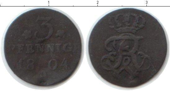 Каталог монет - Пруссия 3 пфеннига