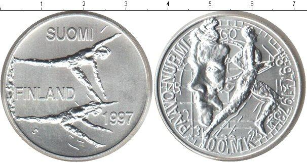 Каталог монет - Финляндия 100 марок