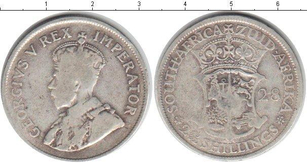 Каталог монет - ЮАР 2 1/2 шиллинга