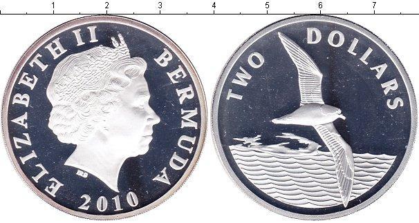 Каталог монет - Бермудские острова 2 доллара