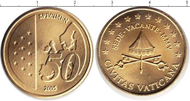 Каталог монет - Ватикан 50 евроцентов