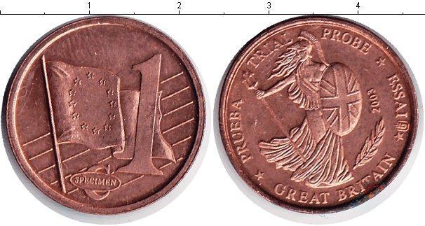 Каталог монет - Великобритания 1 евроцент