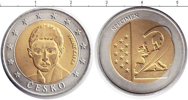 Каталог монет - Чехия 2 евро