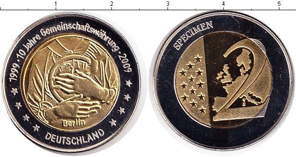 Каталог монет - ФРГ 2 евро