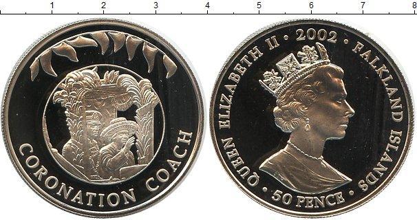 Каталог монет - Фолклендские острова 50 пенсов