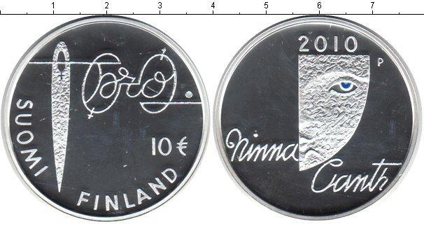 Каталог монет - Финляндия 10 евро