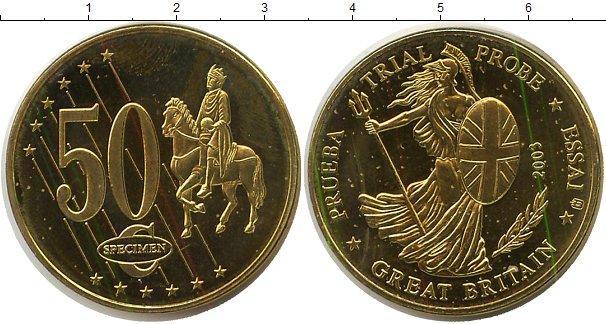 Каталог монет - Великобритания 50 евроцентов