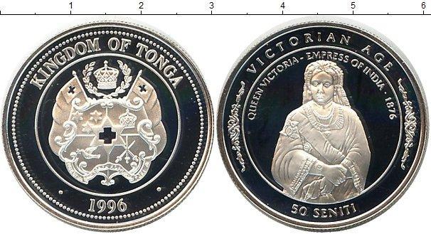 Каталог монет - Тонга 50 сенити