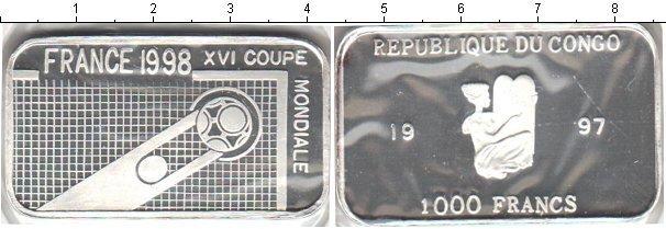 Каталог монет - Конго 1000 франков