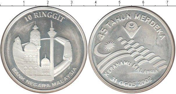 Каталог монет - Малайзия 10 рингит