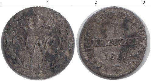 Каталог монет - Вюртемберг 1 крейцер