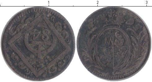 Каталог монет - Вюрцбург 1/84 гульдена