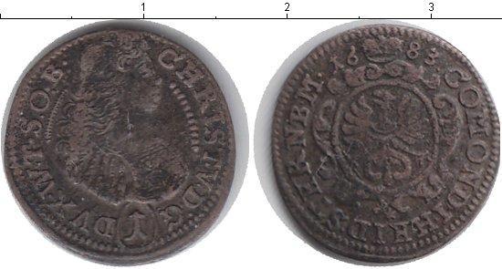 Каталог монет - Германия 1 крейцер