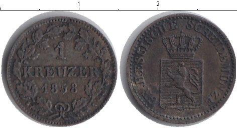 Каталог монет - Гессен 1 крейцер
