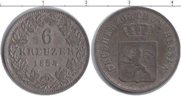 Каталог монет - Гессен 6 крейцеров