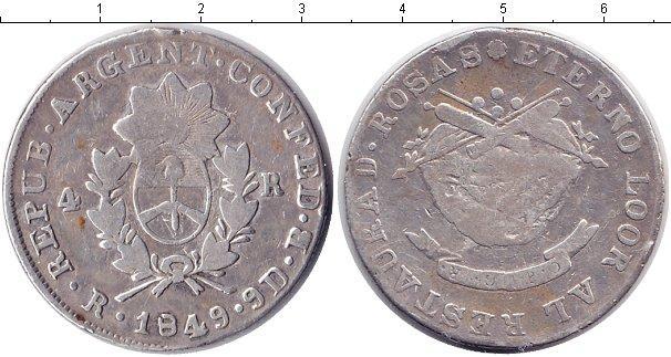 Каталог монет - Аргентина 4 реала