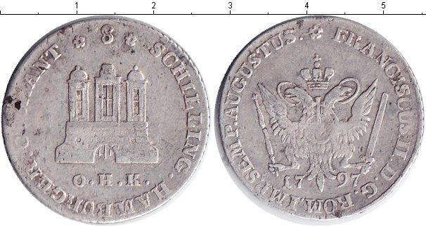 Каталог монет - Гамбург 8 шиллингов