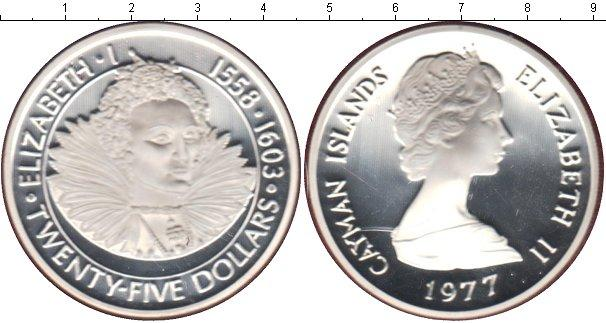Каталог монет - Каймановы острова 25 долларов