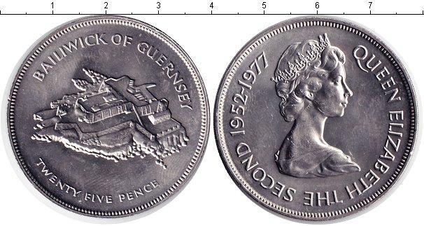 Каталог монет - Гернси 25 пенсов
