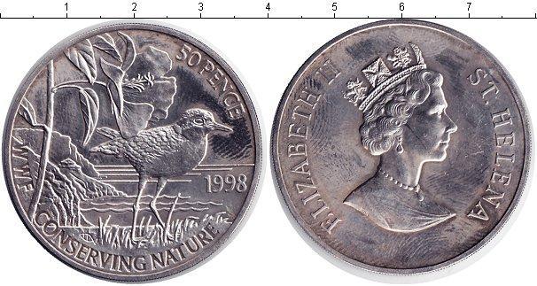 Каталог монет - Остров Святой Елены 50 пенсов