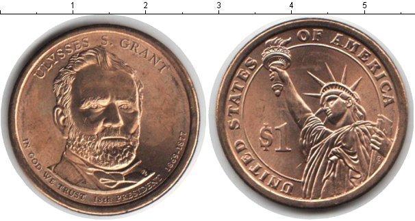 В каталоге монет сша 1 доллар 2011 правители, президенты, им.
