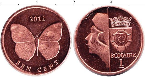 Каталог монет - Бонайре 1 цент