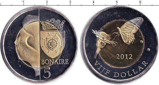 Каталог монет - Бонайре 5 долларов
