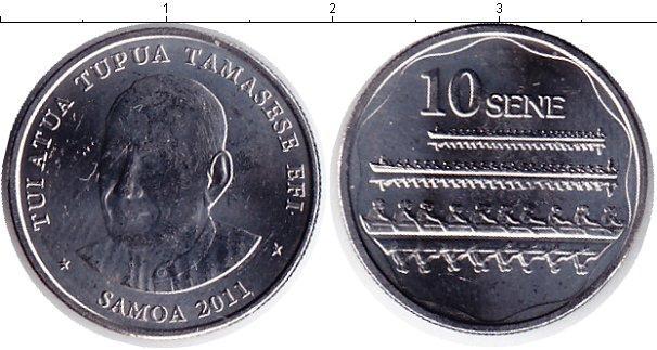 Каталог монет - Самоа 10 сен