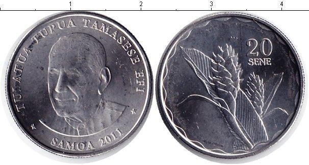 Каталог монет - Самоа 20 сен