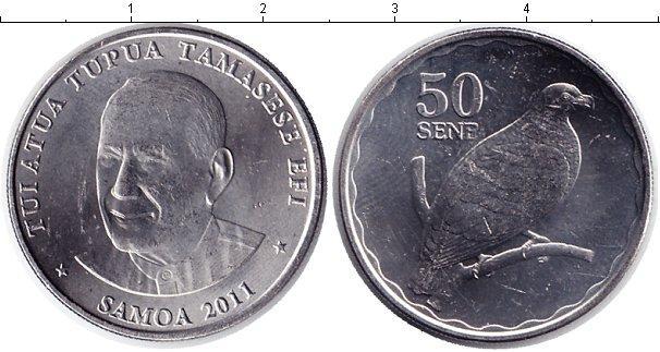 Каталог монет - Самоа 50 сен