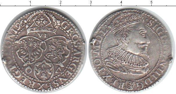 Каталог монет - Польша 6 грошей