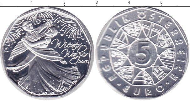 Каталог монет - Австрия 5 евро