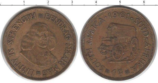 Каталог монет - ЮАР 1 цент