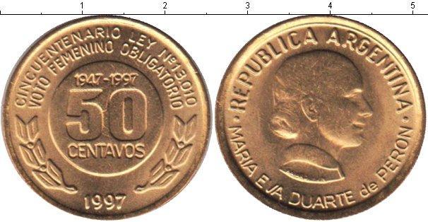 Каталог монет - Аргентина 50 сентаво