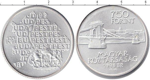 Каталог монет - Венгрия 750 форинтов