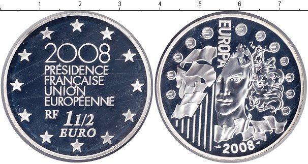 Каталог монет - Франция 1 1/2 евро