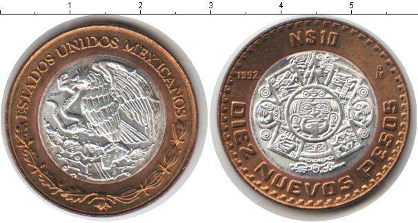 Каталог монет - Мексика 10 песо