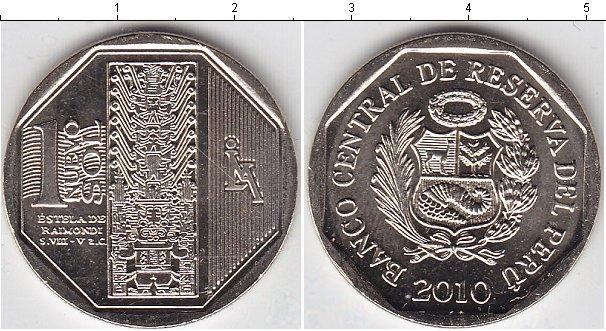 Каталог монет - Перу 1 соль