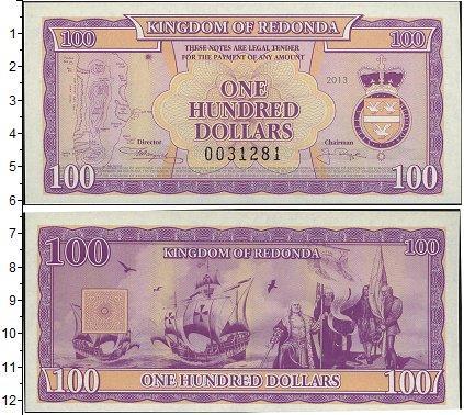 Каталог монет - Редонда 100 долларов