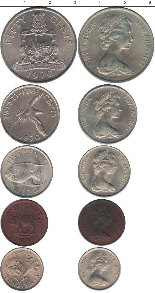 Каталог монет - Бермудские острова Бермуды 1970