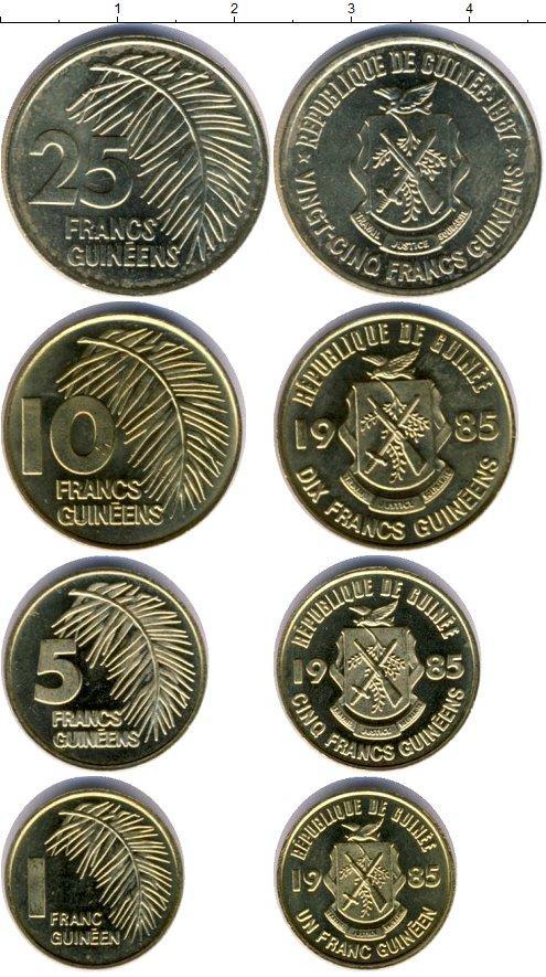 Каталог монет - Гвинея Гвинея 1985