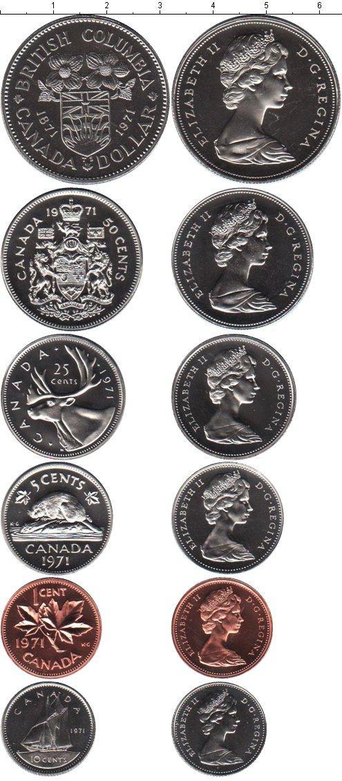 Каталог монет - Канада Канада 1971
