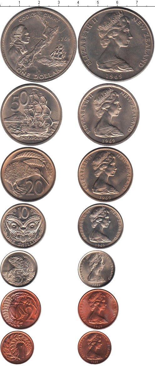 Каталог монет - Новая Зеландия Новая Зеландия 1969
