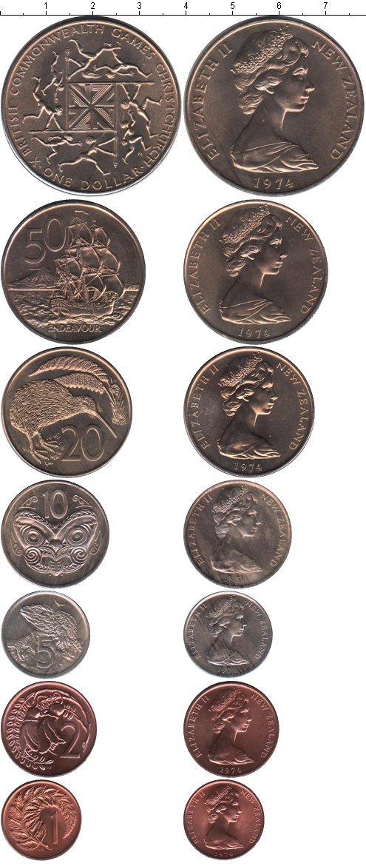 Каталог монет - Новая Зеландия Новая Зеландия 1974