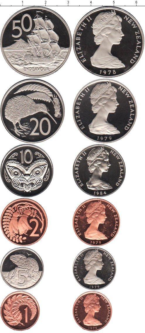 Каталог монет - Новая Зеландия Новая Зеландия 1978-1984