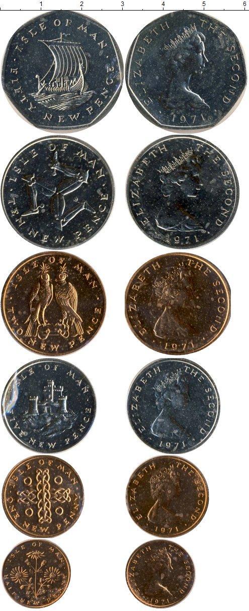 Каталог монет - Остров Мэн Остров Мэн 1971