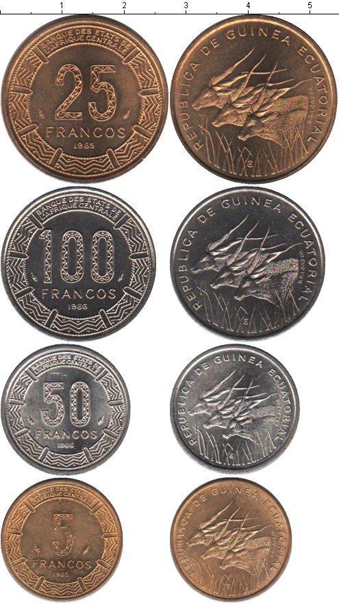 Каталог монет - Экваториальная Гвинея Экваториальная Гвинея 1985