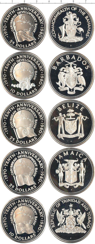 Каталог монет - Белиз 10-летие объединения